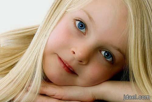 صور اطفال بعيون ملونه واخر شقاوه صور بنات صغار روعه