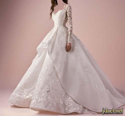 فساتين ليلة الزفاف 2018 اكثر روعة مصمم الازياء سعيد قبيسي