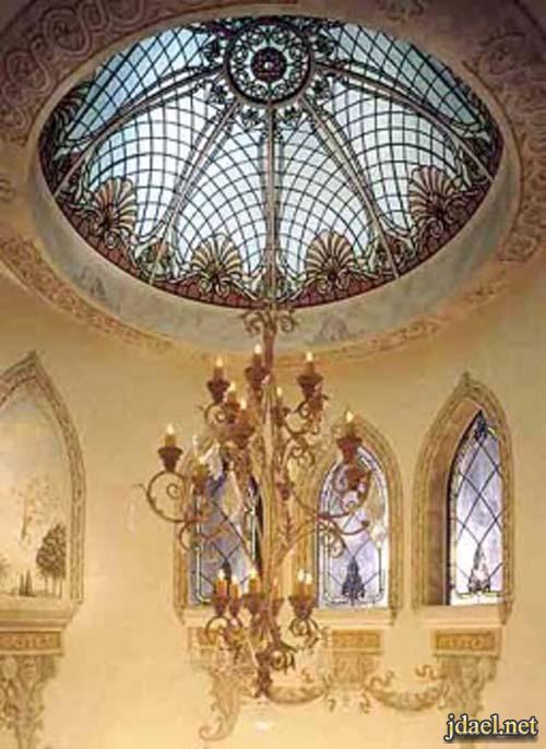 ديكور جبس اسقف قبب للبيوت والفلل من فن المعمار المغربي
