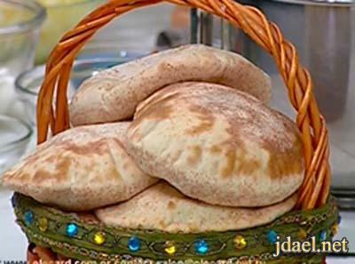طريقة عمل الخبز المصري بالرده بالفرن للشيف حسن