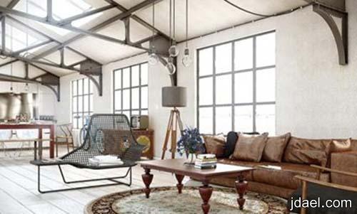 صور ديكورات صالات الجلوس وغرف المعيشه وافكار الجبس للاسقف