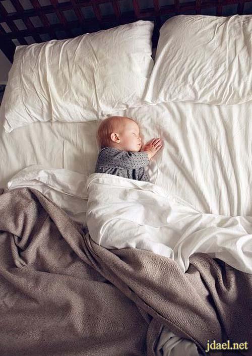 اطفال دلع ونوم بنات واولاد ولمسة حنية بروعة الصور