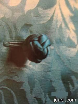 استخدام القيطان المغلف لصنع ازرار الكرة الصينية