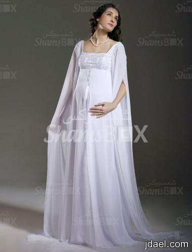 نعومه وشياكه لفساتين الحامل للسهرات موديلات فساتين السهرة للحوامل