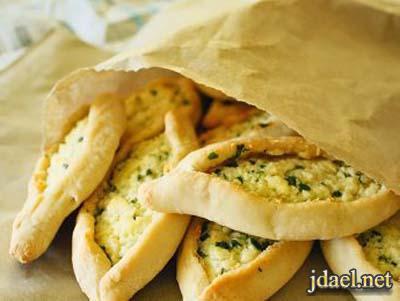 فطاير شاميه بانواع الجبن لفطور رمضان