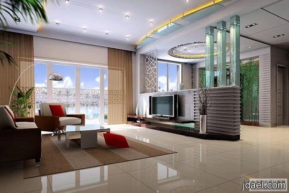 ديكورات مودرن لصالات وغرف الجلوس شقق راقية التصميم والاثاث