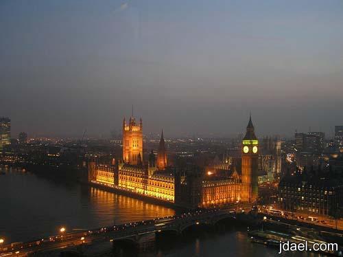 رحله سياحيه في مدينة الضباب لندن عاصمة المملكه المتحده بالصور