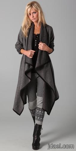 ازياء فصل الشتاء 2012 معطف شتائي