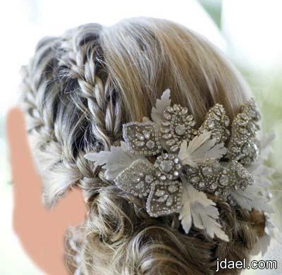 تسريحات شعر وافخم الاكسسوارات للعروسه ليلة الزفاف تبهر الحضور باطلاله جميله