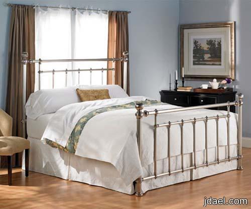 جديد ديكورات غرف النوم الجلد واروع موديلات استنلس استيل