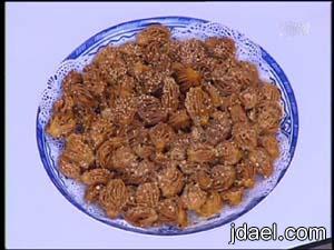 طريقة عمل حلوى الشباكيه المغربيه حلويات رمضانيه المغرب