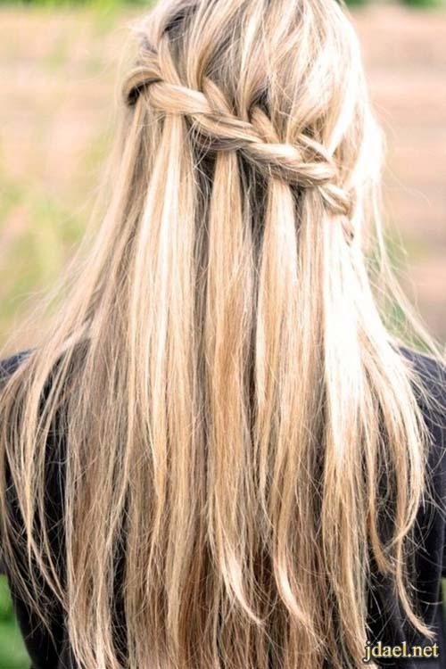 احلى تسريحات الشعر بالضفاير روعة الضفائر المميزة للشعر