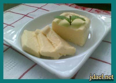 طريقة عمل الجبن البيت بالزبده والبيض بالصور