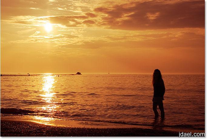 احلام على شاطئ البحر