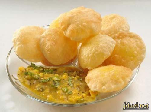 طريقة عجينة الخبز الهندي الفرن