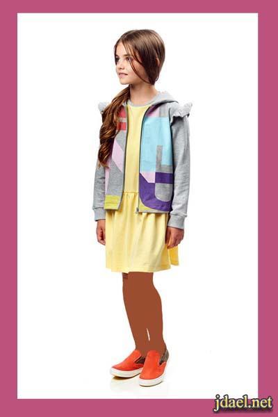 فساتين وملابس الصيف للاطفال البنات دار ازياء Fendi