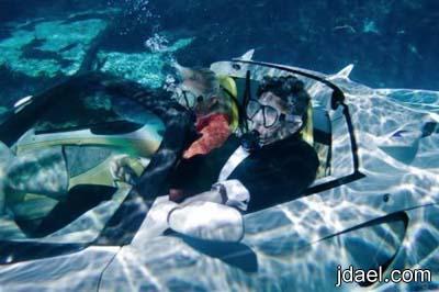 صور سيارة سبيد التي تسبح تحت الماء السياره الاولى بالعالم لفرانك ريندرنيشت
