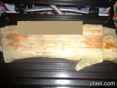 طريقة عمل ساندوتش مرتديلا بخبز الصاج انواع السدندوتشات