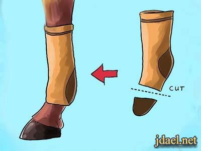 ترمي الجوارب القديمه جديد الافكار للشراريب القديمة
