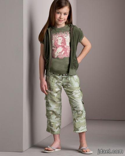 اجمل ملابس الاطفال الكاجول ازياء لاناقة احلى بنوته
