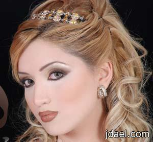 تسريحات ومكياج العروسه 2013 ميكب ورسمات حواجب وتساريح شعر عرايس
