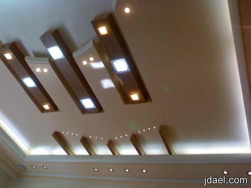 ديكورات جبس اسقف بتصميم ايطالي لغرف الاستقبال وصالات المعيشه