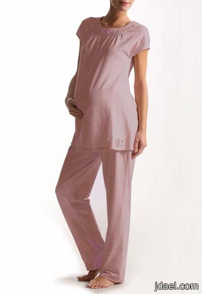 بيجامات حمل بجايم شيك للمراه الحامل ملابس للبيت للحوامل