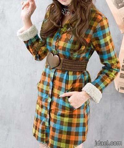ملابس اسبور للبنات عودة موضة الكاروهات واناقة الجينز للصبايا