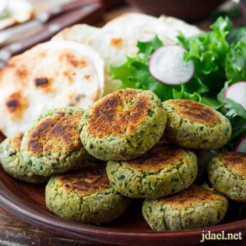 مقبلات ساخنة فلافل شامية بالفرن من المطبخ الشامي