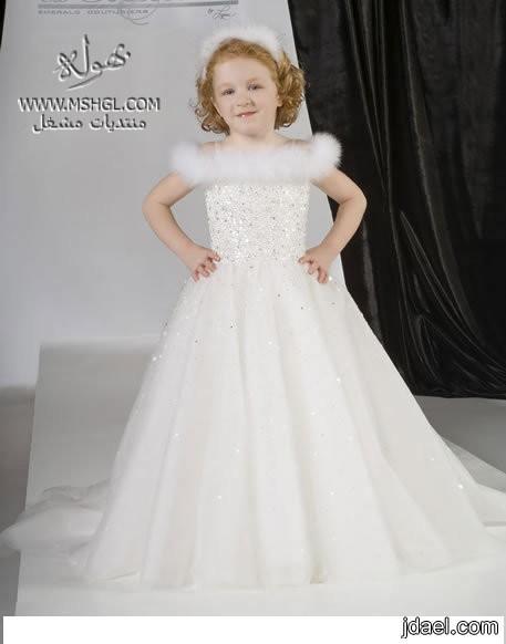 642492925 موديلات فساتين زفة الزفاف للصغيرات - فساتين لاناقة البنوته في ...