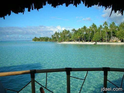 اجمل الوجهات السياحه جزيرة بورا بورا دعوه للرومانسيه