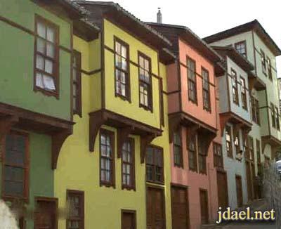 ديكور تركي واجهات بيوت تركيا واثاث الريف التركي والعصري