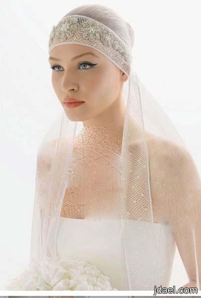 طرح ليلة الزفاف للعروس بموديلات راقيه بتطريز الاطراف بالدانتيل