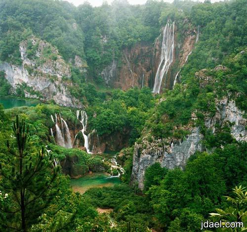 سياحه حول مجمع بحيرات بليتفيتش الكرواتيه مناطق طبيعيه كرواتيا