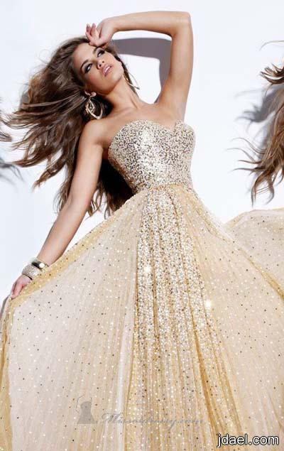 جديد الازياء موديلات الترتر بالقطع الكامله لفساتين السهرات للبنات والنساء