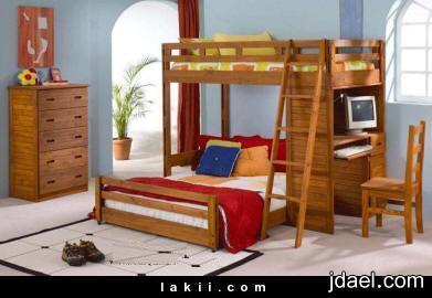 حلول تساعد على استغلال مساحة الغرف الصغيرة