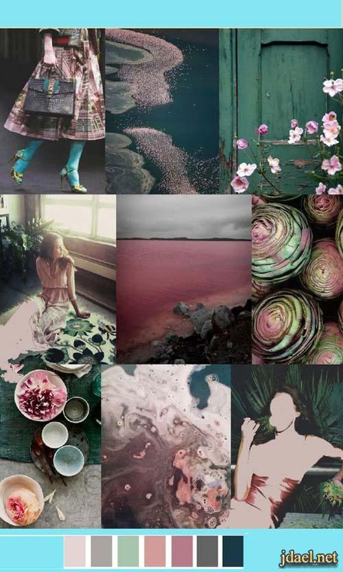 عشق الالوان اللون التيفاني ودرجاتة والوان تتناسق التيفاني