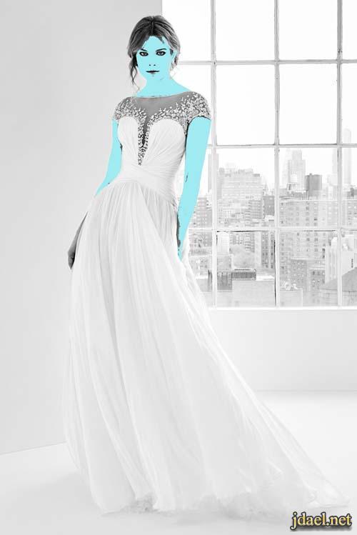 فساتين زفاف زهير مراد بالدانتيل والتل بموديلات كلاسيك عصري للعروسة