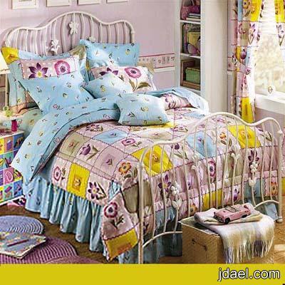 غرف نوم للبنات بدلع الالوان وروعة الديكور