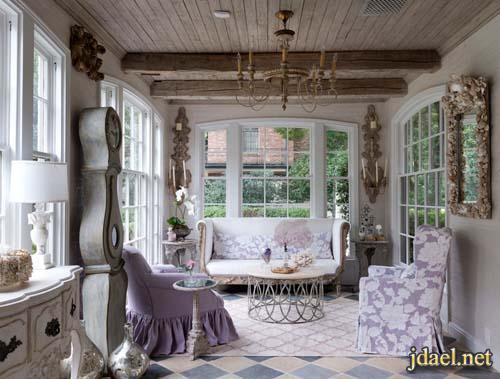 ديكورات غرف جلوس بتصاميم تركي ومغربي فرنسي وروعة المودرن