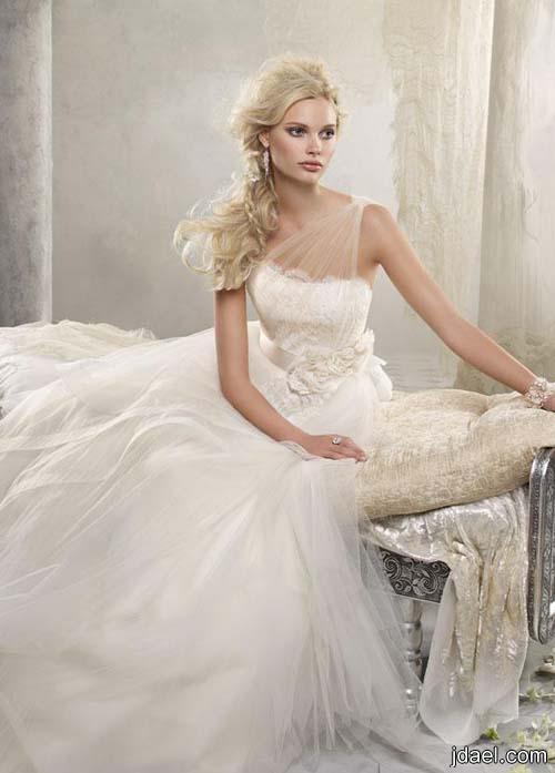 اجدد موديل لفستان العروسه صور لموديلات فساتين العرايس نعومه واناقه