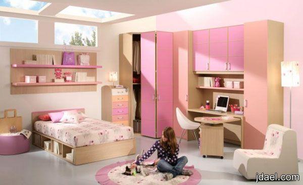 غرف نوم بنات في سن المراهقة ديكورات غرف نوم مراهقات   منتدى جدايل