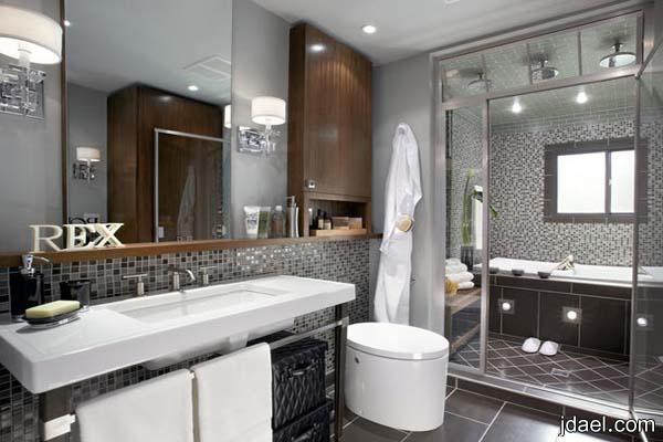 ديكورات رائعة لغرف الحمامات تساعدك على الاسترخاء بجمال الاختيار