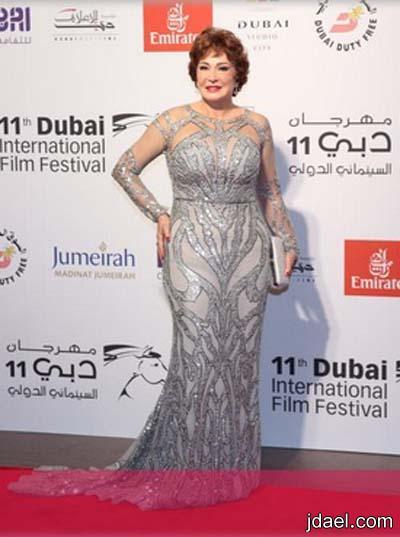 فساتين مشاهير العرب في مهرجان دبي السينمائي