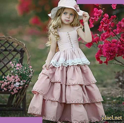 18495ebaa فساتين بنات اطفال لاناقة بجديد موديلات الدانتيل والاقمشة الراقية ...