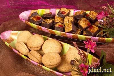 توزيعات وعلب شوكولاته منسقه بالورد للافراح وارقى ضيافه ليلة الزفاف