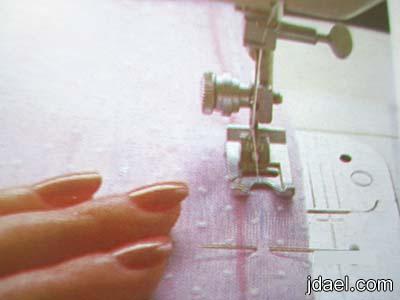 كيفية تبطين قبات الفستان