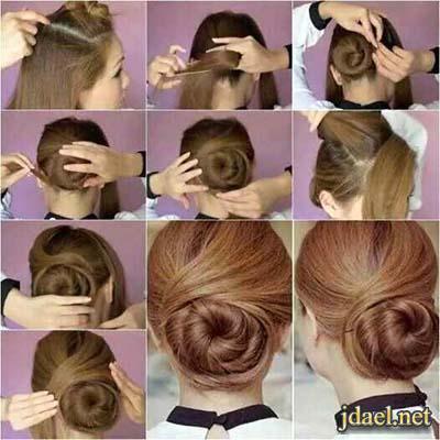 تسريحات شعر بخطوات سهلة للبنات تساريح الشعر بالضفاير المبتكرة