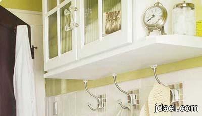 ترتيب الحمام بديكورات ذكيه تنظيم ادوات الحمام بشكل مرتب ومريح