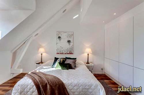 ديكور غرف نوم صغيره وافكار لاستغلال المساحه الصغيرة